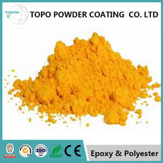 RAL1002 sand yellow Hard and rigid electrostatic thermoset powder coating